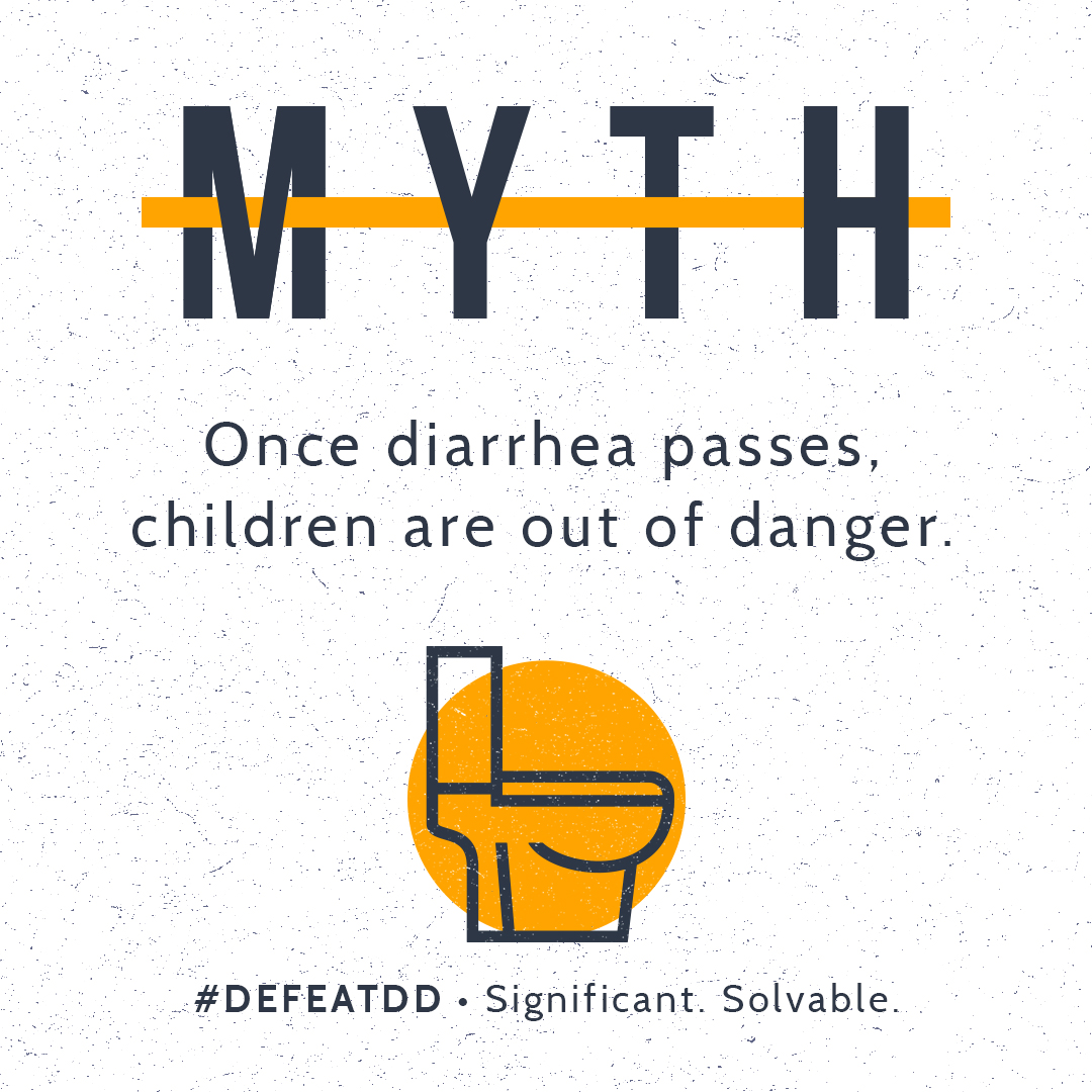 Myth: Once diarrhea passes, children are out of danger