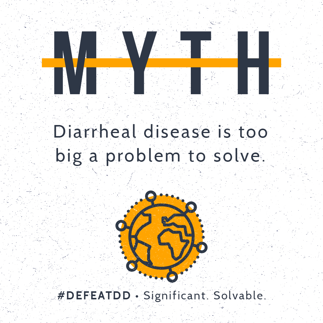 Myth: Diarrhea is too big a problem to solve