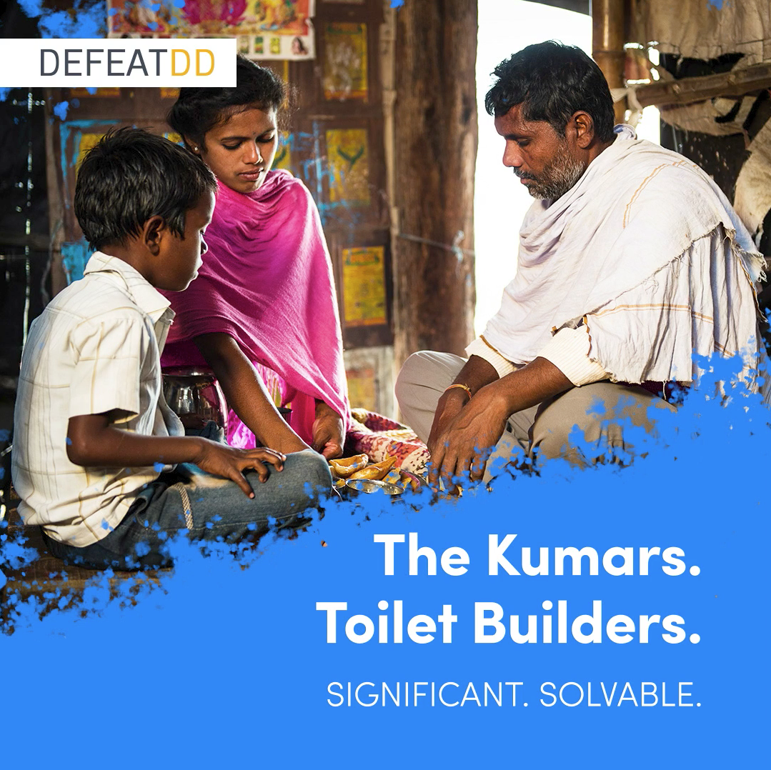 The Kumars: toilet builders