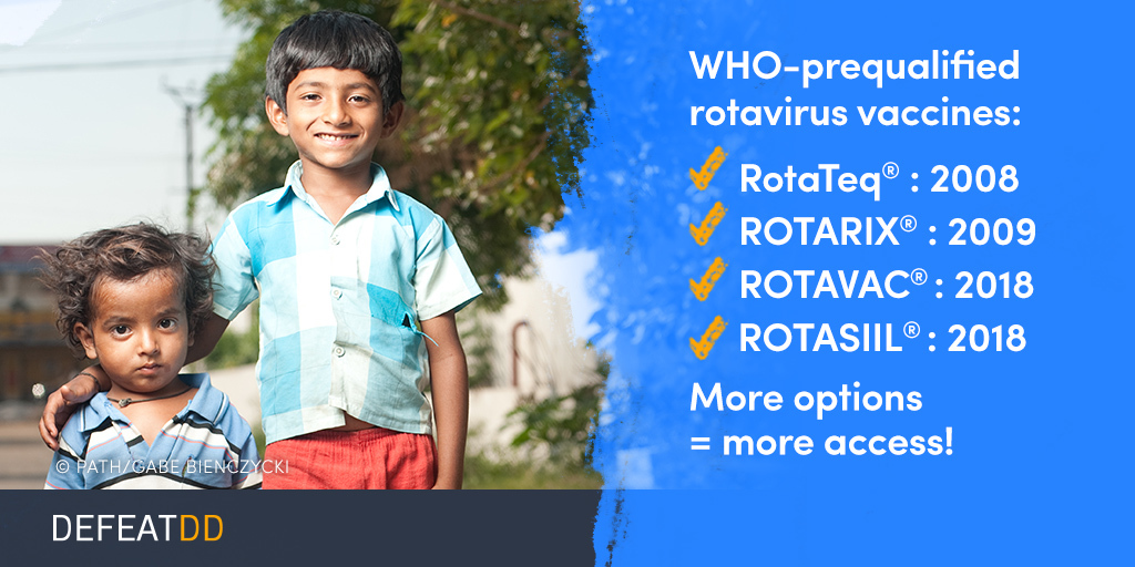 List of WHO prequalified rotavirus vaccines