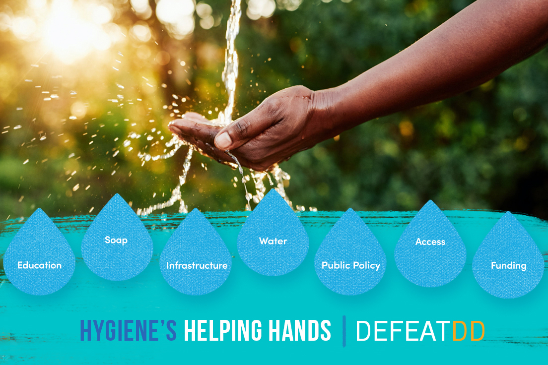 Hygiene needs several helping hands