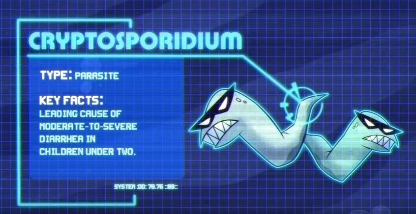 Paraziți - Cryptosporidium (cunoscut și Sub Numele De