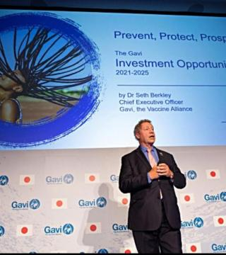 Seth Berkley CEO of Gavi