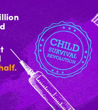ORS and vaccines are simple tools of the child survival revolution