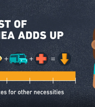 "Graphic with title ""The cost of diarrhea adds up"""